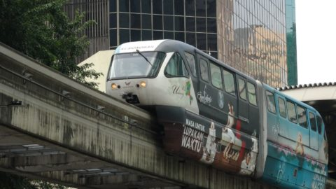Kuala Lumpur has a city centre monorail system