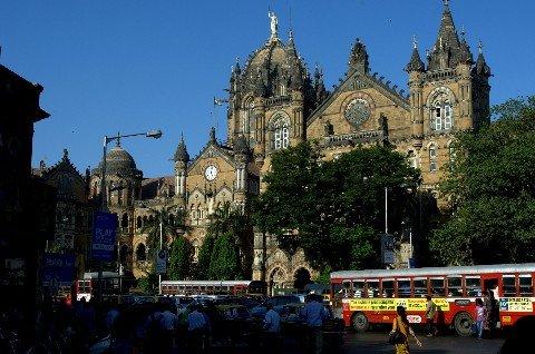 Chhatrapati Shivaji Maharaj Terminus in Mumbai